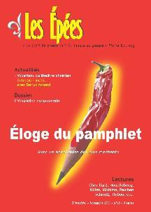 """N°10 : """" Eloge du pamphlet """""""