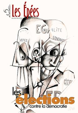 """N°22 : """" Les élections contre la démocratie """""""
